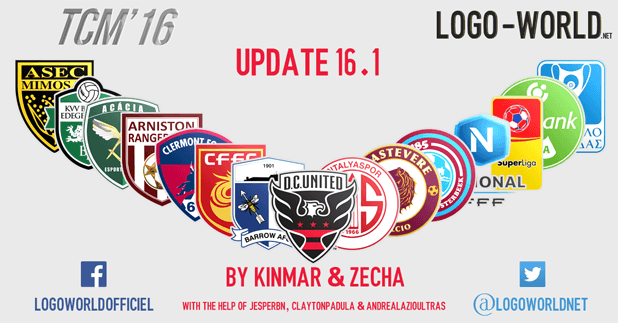 football manager tcm16 logo update 16.1