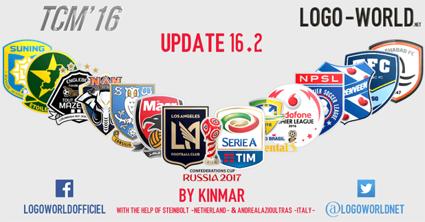 football manager tcm16 logo update 16.2