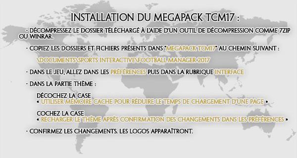 TCM17 Installation FR