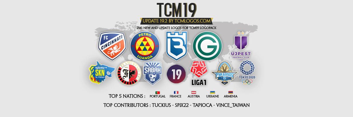 Tcm19 Logopack By Tcmlogos Com Update 19 2 Fm Scout