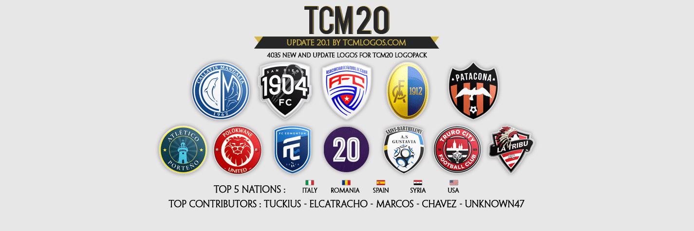 [FM20 Logos] TCM20 Logopack by TCMLogos TCM20-20.1